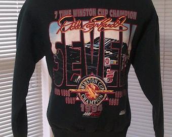 Vintage 1994 Nascar Dale Earnhardt Sr 7 Time Winston Cup Champion Sweatshirt L