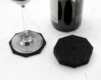 Crystal Coasters - set of 4