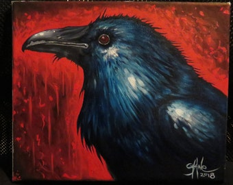 Carrion king'' Raven