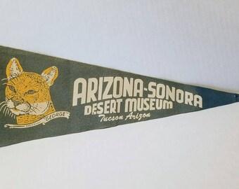 Arizona-Sonora Desert Museum - Vintage Pennant
