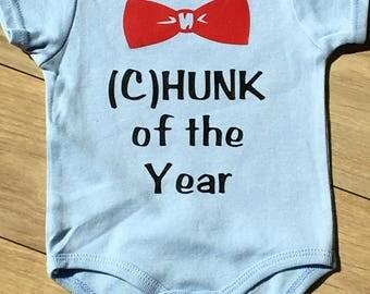 Hunk of the Year Boys Onesie