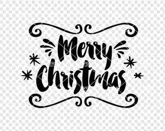 Christmas SVG, Merry Christmas SVG, Digital cut file, winter svg, Christmas joy svg, Christmas saying, commercial use OK