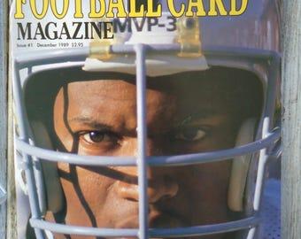 1989 Bo Jackson Oakland Raiders - Football decor - Vintage magazine - Sports gift - Bo Jackson Gift - Oakland Raiders - Bo Jackson - Sports