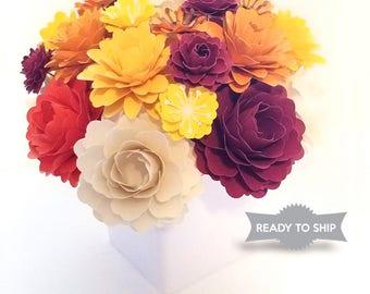Arrangement in vase | Paper Flower Arrangement | Flower Gift Box
