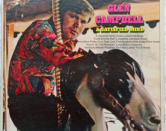 Glen Campbell - A Satisfied Mind - 1971 - SPC-3134 - Viinyl