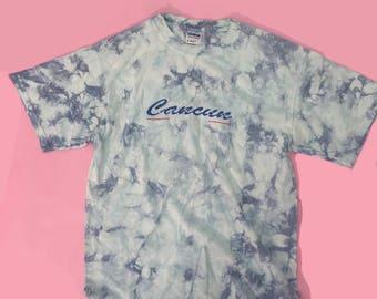 Vintage 90s Cancun Tie-Dye Shirt