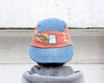 The Humming-Bird CAP - ColorClashCollection - Handmade 5panelhats