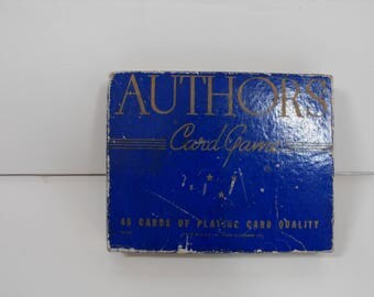 Vtg Authors Game Original Box Two Sets  (1350)