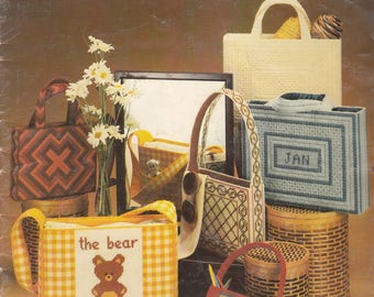 Needlepoint Totes for Plastic Canvas
