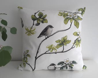 "Cushion cover "" Apple Blossom"""