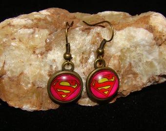 Superwoman Hook Earings