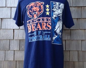 vintage Chicago Bears T shirt by Logo 7 - Large - soft & thin