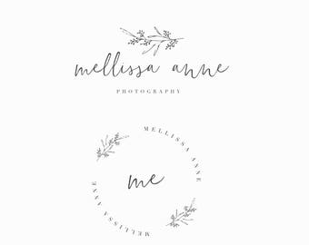 Premade Logo, Feminine logo ,  Logo Design, Brand Design, Business Logo, photography logo, boutique logo, makeup artist logo , heart logo
