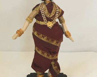 Wire doll, South Indian madisar, golu doll,