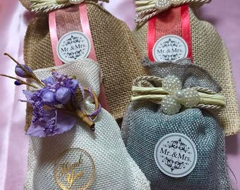 Party Favors , Candy Bags, Potpourri Pouches