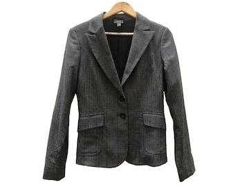 Checkered Vintage BLAZER//vintage clothing//XS size//trendy//vintage jacket//Jacket/Clothing vintage/small/autumn/American
