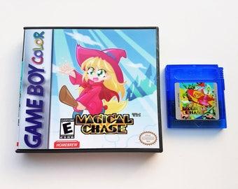 Magical Chase w/ CASE - GBC- Game Boy Color - English Cartridge (Custom Fan Translation) Gameboy