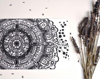 Mandala Original Art Print