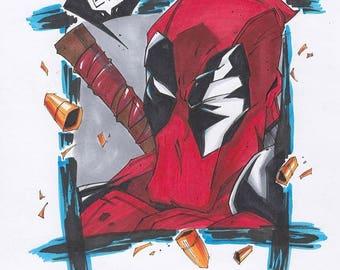 Original Art- Deadpool