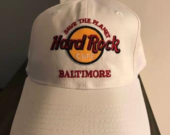 Hard Rock Cafe Baltimore Snap Back Baseball Hat