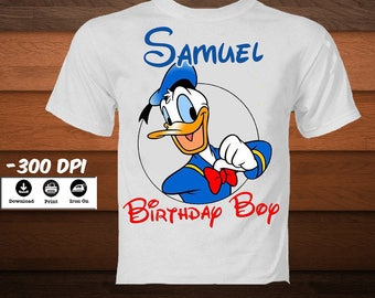 Personalized Scrooge McDuck Iron on Transfer Shirt-Scrooge McDuck Birthday iron shirt-Scrooge McDuck decoration iron image-DIGITAL DOWNLOAD