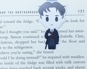 Kaz - Magnetic bookmark - Six of Crows || book lover gifts | grisha | kaz brekker | bookish | bookmarks | leigh bardugo | magnetic bookmarks