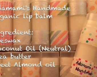 Lip Balm with natural ingredients