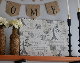 "NEW SIZE 17"" x 23"" Linen Pin Board"