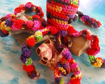 Crochet Octopus    Stuffed Octopus   Octopus Toy   Octopus Doll   Handmade Toys   Crochet Toys   Ocean Gifts   READY TO SHIP