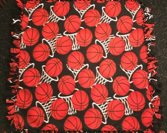 Basketball Hoops Fleece Blanket
