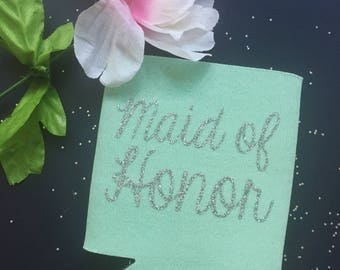 Maid of Honor Can Cooler