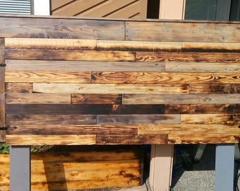 Queen Size Rustic Head Board