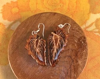 Natural Pinecone Earrings