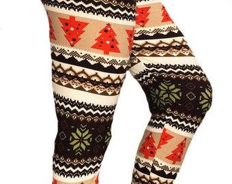 Christmas Leggings, Womens leggings,Leggings,Gym leggings,Yoga Leggings,Workout Leggings, Winter Leggings, Yoga Pants, Women Leggings, skull