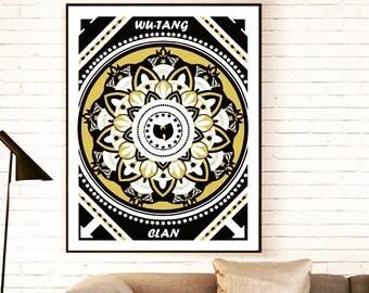 Wu Tang Clan A2 Poster