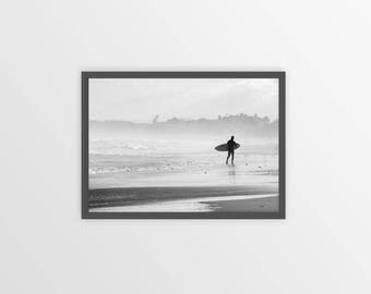 SURF ART, Surf poster, Surf Print, Surfing Art Print, Surf Wall Art, Ocean Art, Surf Photo, Beach Photo, Beach Photography, Black and White