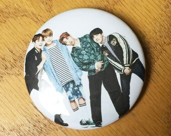 BTS-KPOP 2.25 inch Pinback Button-Custom-NEW