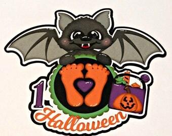 Baby's 1st Halloween Scrapbook Paper Piecing