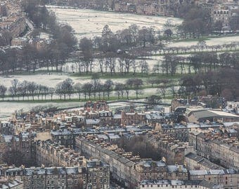 Snowy Meadows from Arthur's Seat