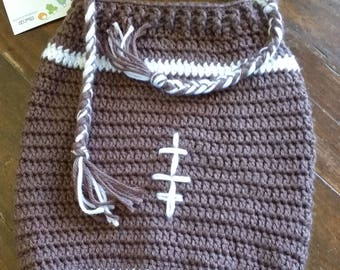 Football Cocoon & Earflap Hat