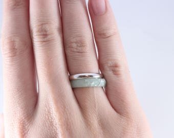 Sterling Silver Ring Wedding Stacker Band Size 6