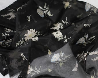 Printed Silk Organza 3.6m x 1.10wide