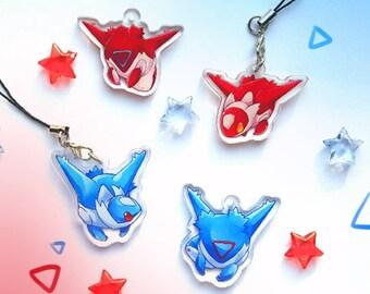 Pokemon Latias Acrylic Charms