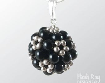 Flowerball pendant - micahray.jewelry