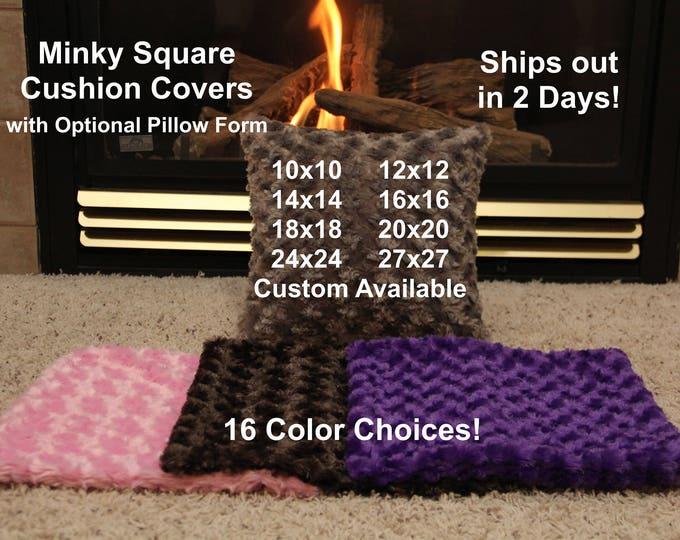 Cushion Cover, Pillow Covers, Cushion Cover Custom, Throw Pillow Cover, Optional Pillow Form 20x20, 24x24, 18x18, 16x16, 14x14, 12x12, 10x10