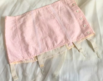 Vintage 1970's Button up Garter Belt from Russia