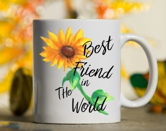 Best Friend Mug, Best Friend Gift, Gift for best Friend, BFF, Bestie, Girl Friend, Friends, Coffee Mug, Gift for Bff, mug for Friend, gift