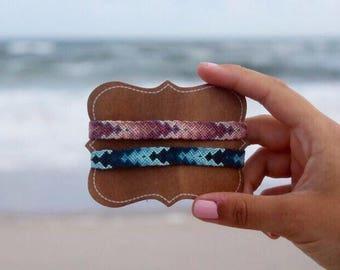 Custom Arrowhead Friendship Bracelet - Summer Jewelry - Surfer Jewelry