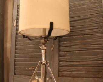 Vintage Drum Stand Lamp