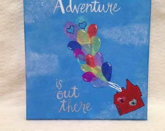 Hand painted customizable canvas
